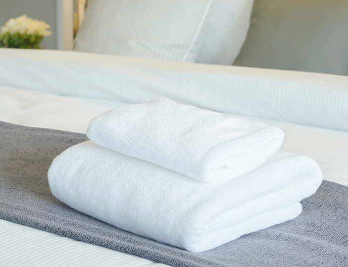 Munthe 2 - Bäddset & handdukar